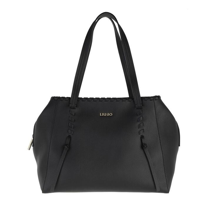 Handtasche, LIU JO, Medium Satchel Nero