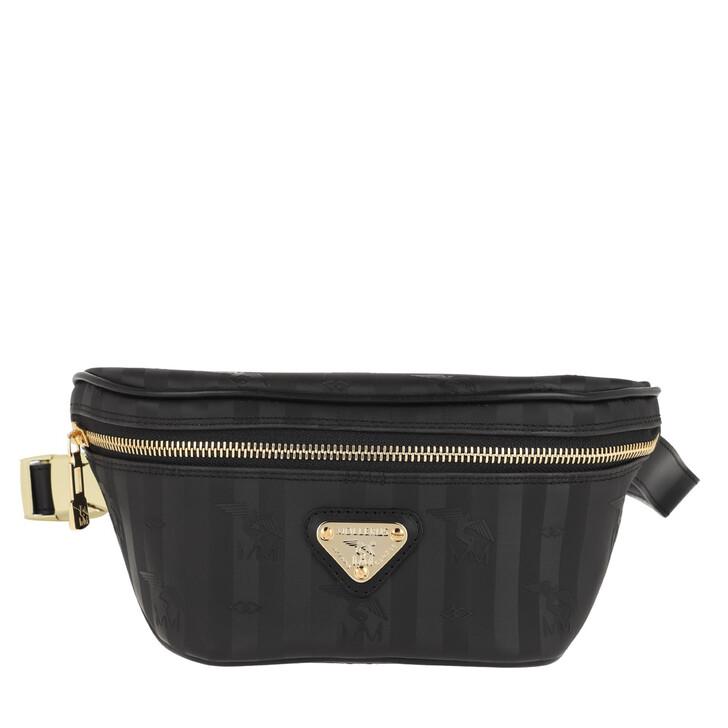 bags, Maison Mollerus, Grindelwald Belt Bag Black/Gold