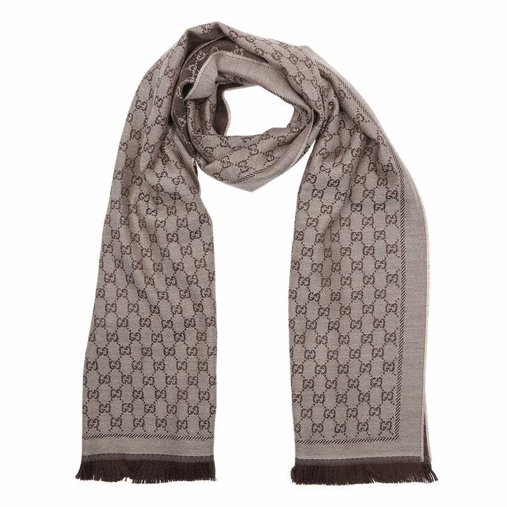 scarves, Gucci, New Sten Scarf Beige Ebony
