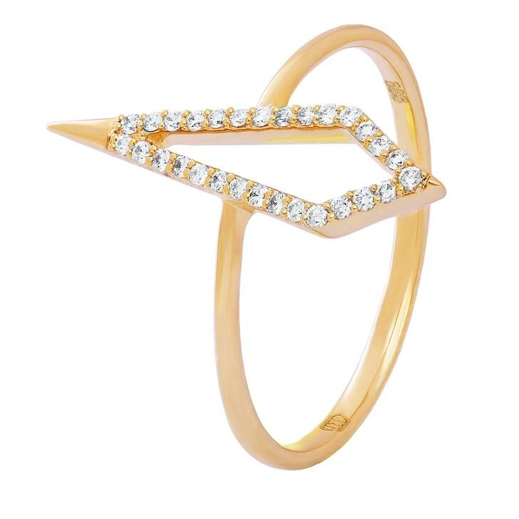 Ring, BELORO, 0,11ct Diamond Ring Yellow Gold