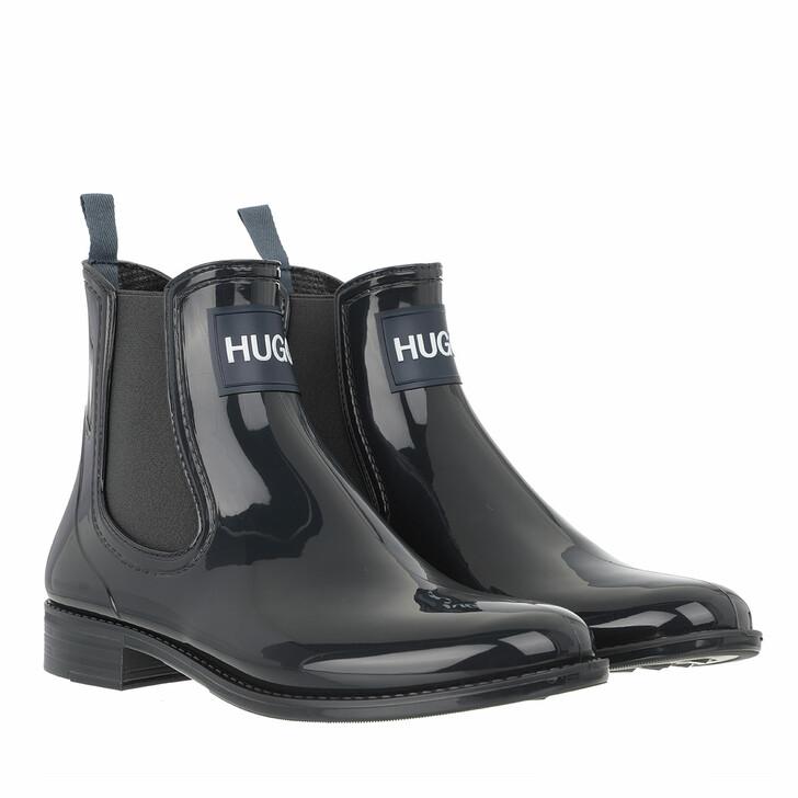 shoes, Hugo, Nolita Rain Bootie  Dark Blue