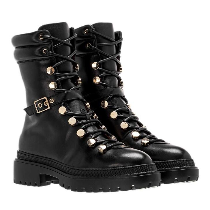 Schuh, L´Autre Chose, Mountain Boot Lamb Leather Black