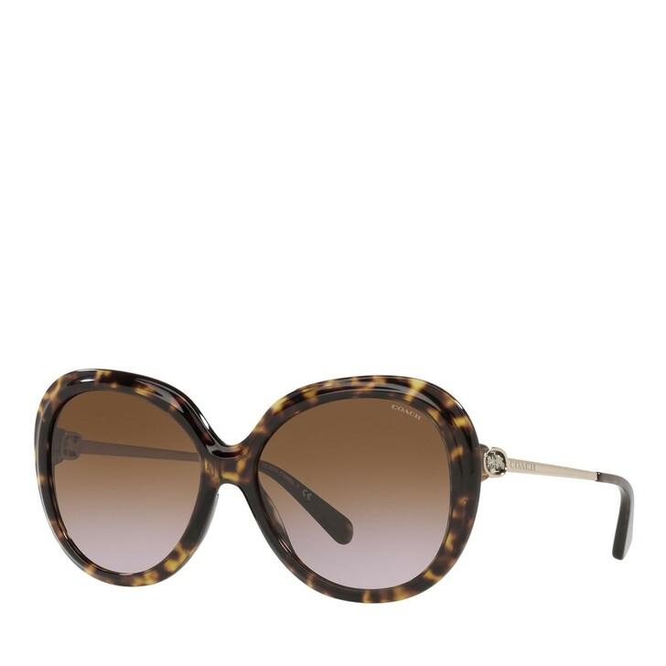 Sonnenbrille, Coach, 0HC8314 Dark Tortoise