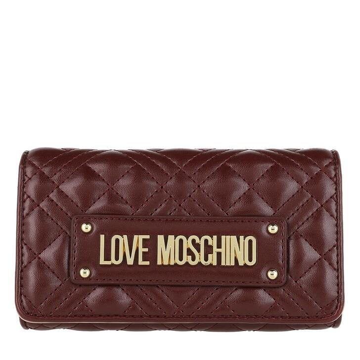 wallets, Love Moschino, Wallet Vino