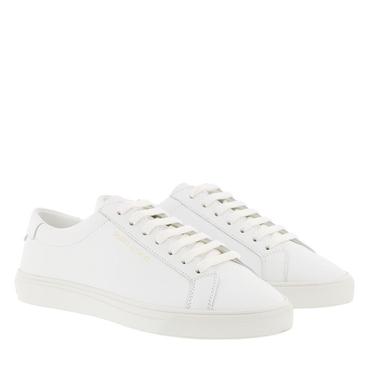 Schuh, Saint Laurent, Andy Sneaker Leather White
