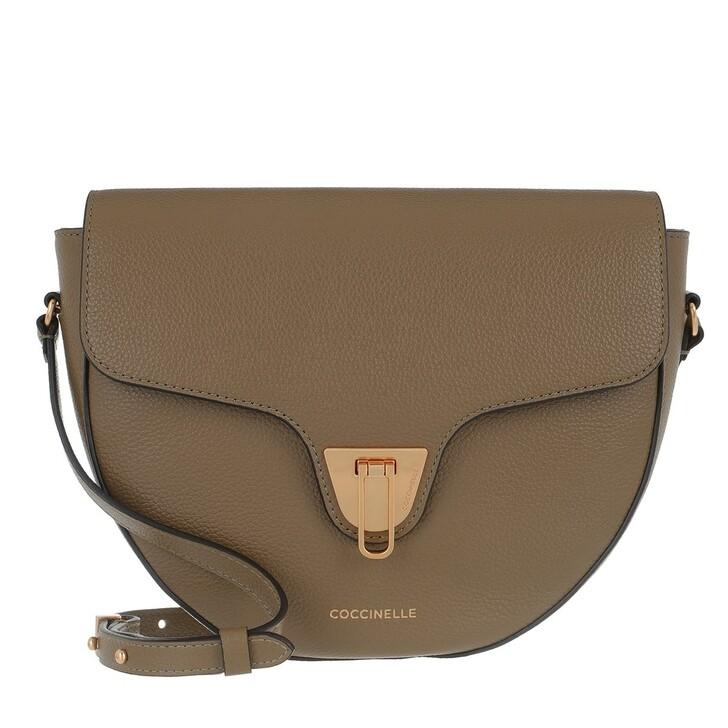 Handtasche, Coccinelle, Beat Soft Flap Crossbody Bag Moss Green
