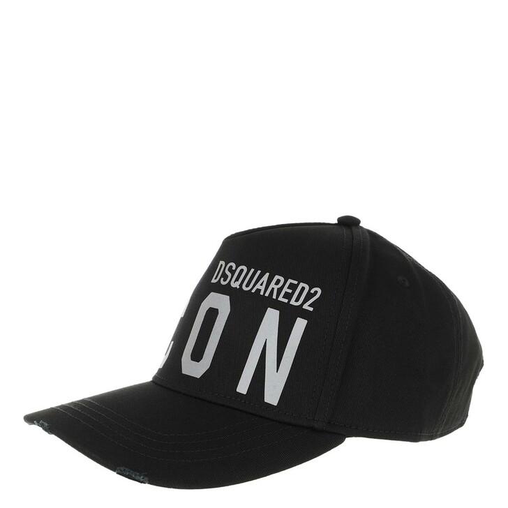 Mütze, Dsquared2, Icon Baseball Cap Black/Reflective