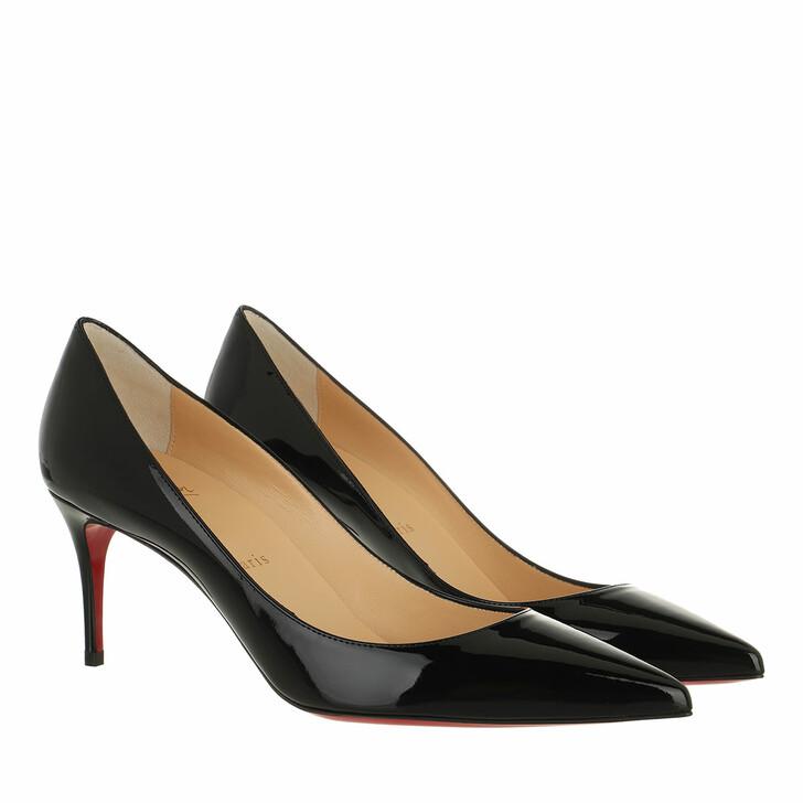 shoes, Christian Louboutin, Kate Pumps Patent Leather Black