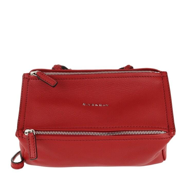 Handtasche, Givenchy, Pandora Mini Bag Vermillon