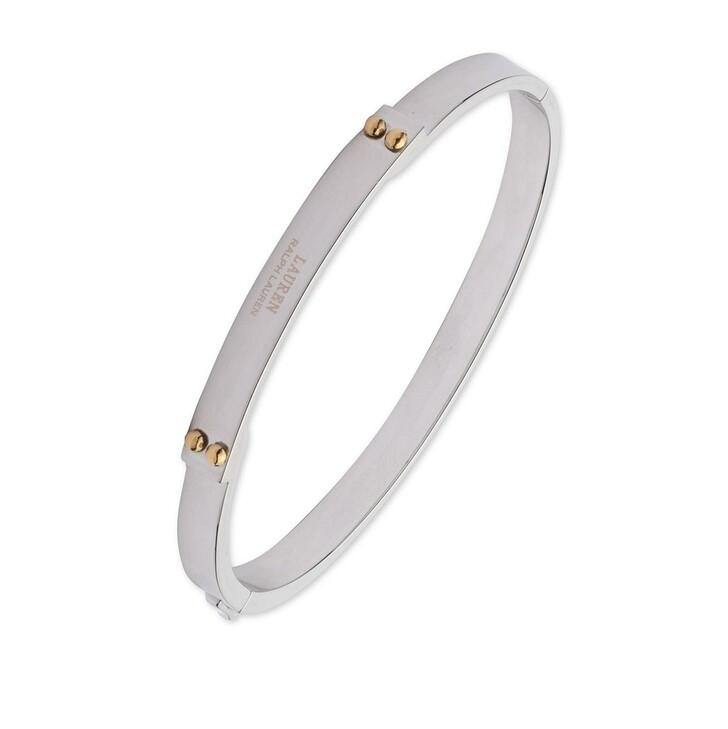 Armreif, Lauren Ralph Lauren, Bracelet Logo Bangle Two Tone