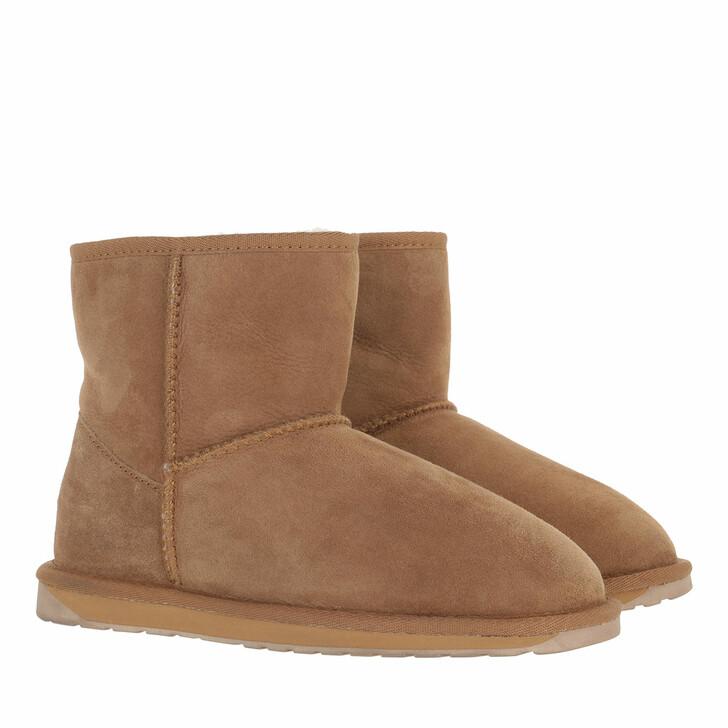 shoes, EMU Australia, Stinger Mini Boot Sheepskin Chestnut