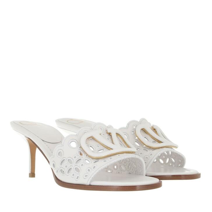 shoes, Valentino Garavani, VLogo Signature Slingback Pumps Optic White