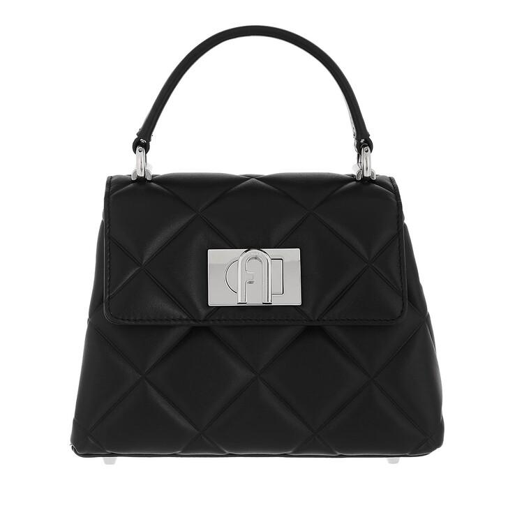 bags, Furla, Furla 1927 Soft Mini Top Handl Nero