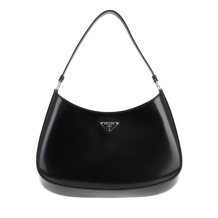 Handtasche, Prada, Shoulder Bag Leather Black