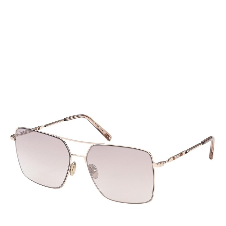 sunglasses, Tod's, TO0292 Rose Gold/Grey