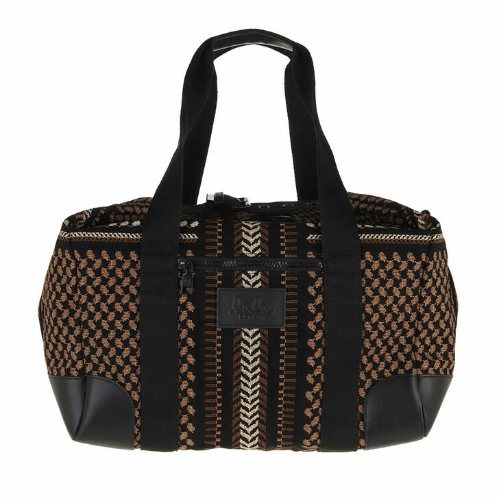 bags, Lala Berlin, Big Bag Muriel X-Stitch Black X-Stitch