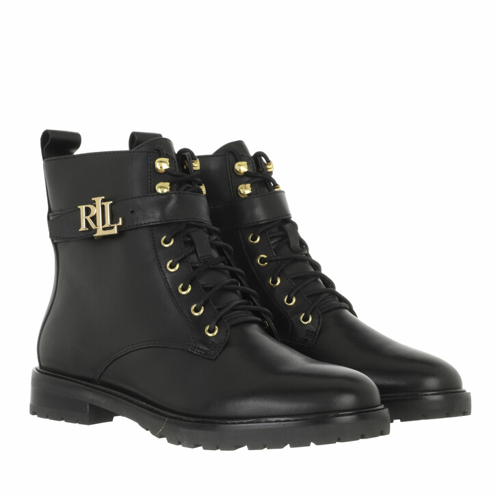 shoes, Lauren Ralph Lauren, Elridge Boots Bootie Black