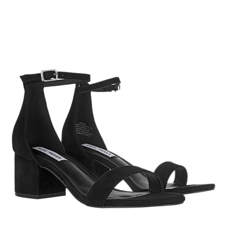 Schuh, Steve Madden, Irenee Sandals Suede Black