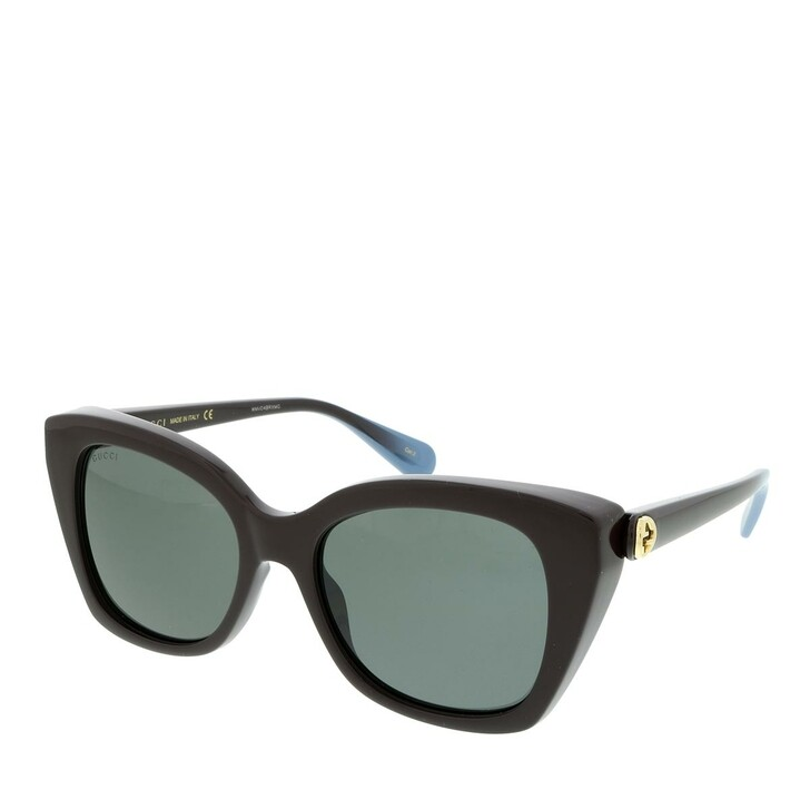 Sonnenbrille, Gucci, GG0921S-004 55 Sunglass WOMAN INJECTION BROWN