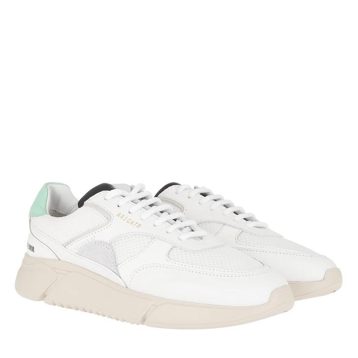 Schuh, Axel Arigato, Genesis Triple Sneakers White/Mint Green