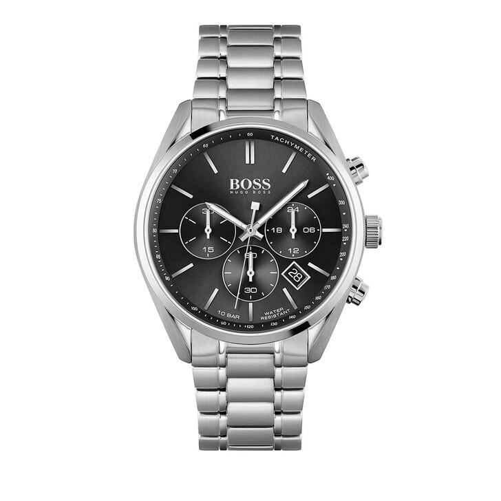 Uhr, Boss, Chronograph Silver