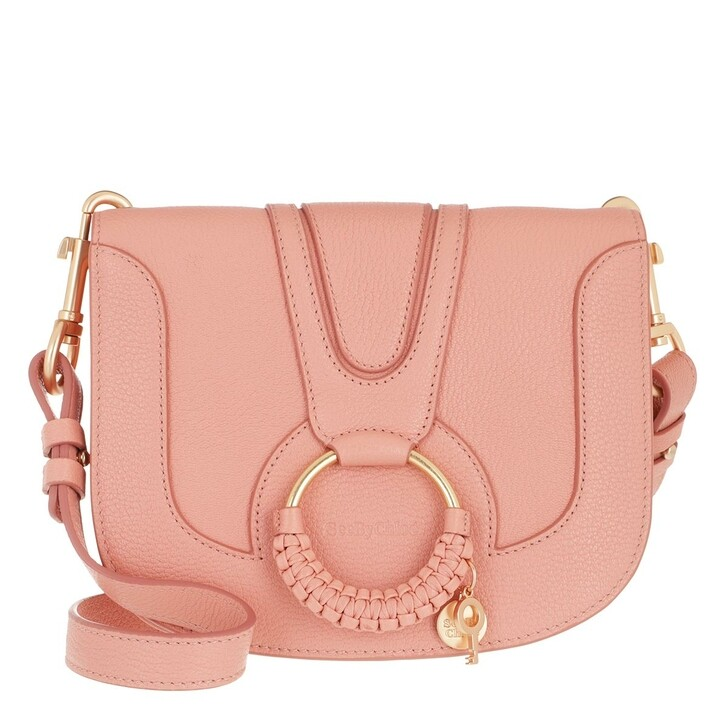 Handtasche, See By Chloé, Hana Medium Crossbody Bag Leather Fallow Pink