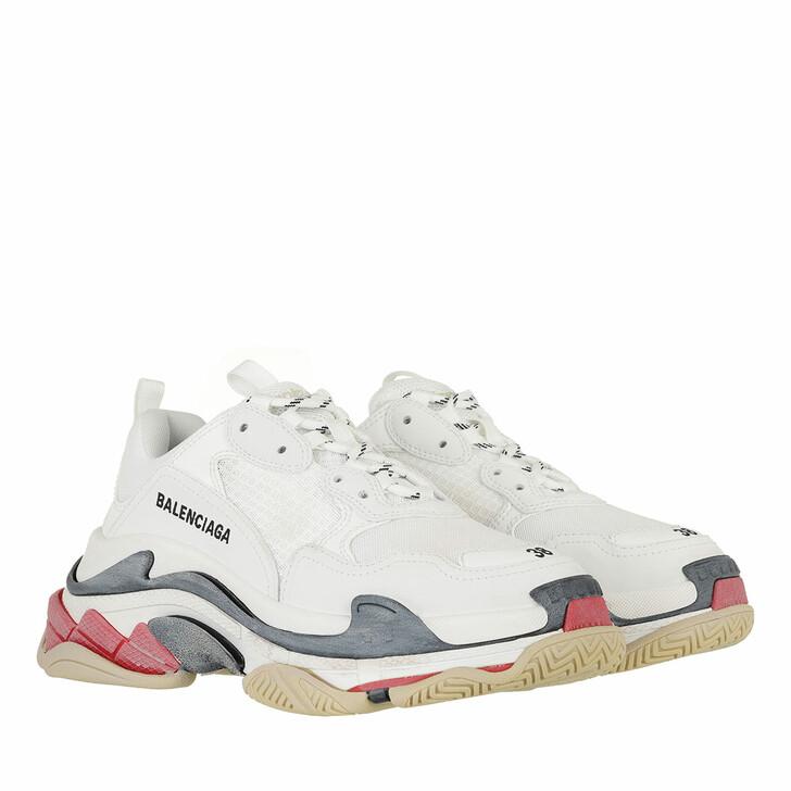 Schuh, Balenciaga, Triple S Sneakers White