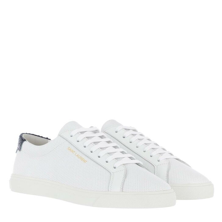 Schuh, Saint Laurent, Sneakers Leather Black Optic