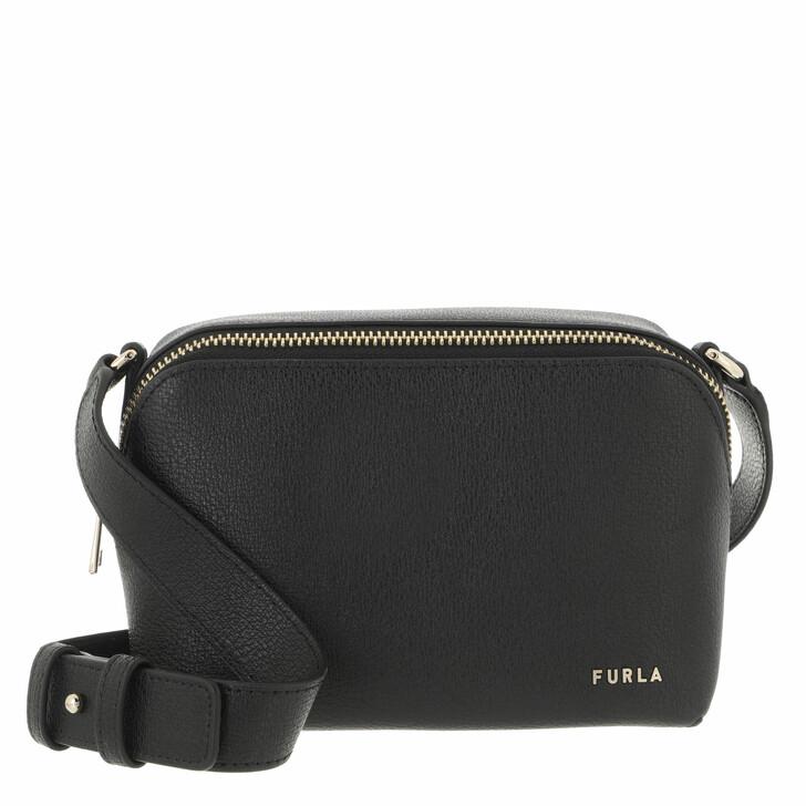 bags, Furla, Furla Amica Mini Camera Case Nero