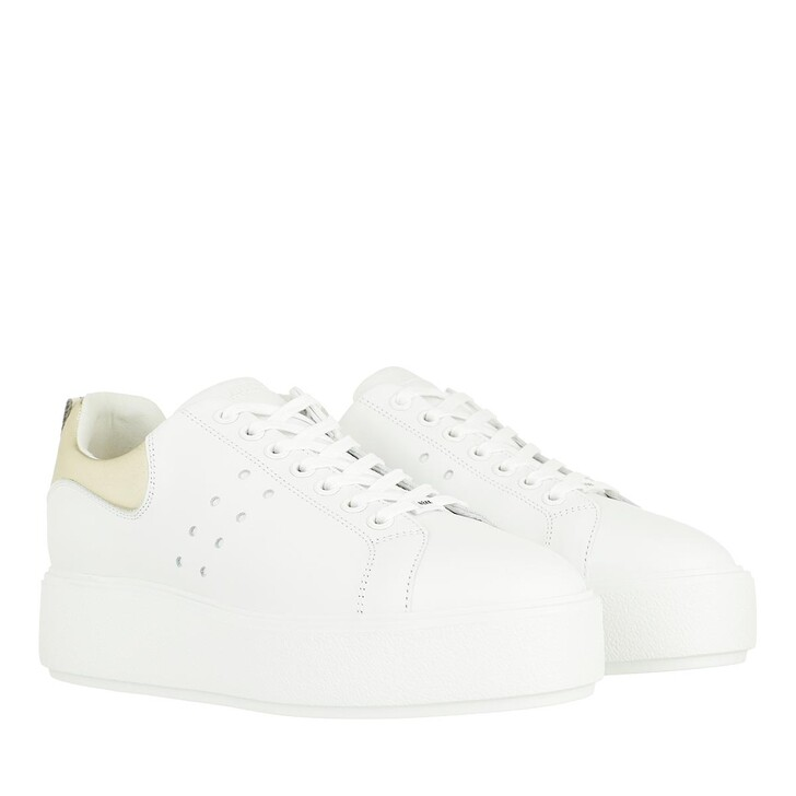 Schuh, Nubikk, Elise Marlow Sneaker Leather White Gold