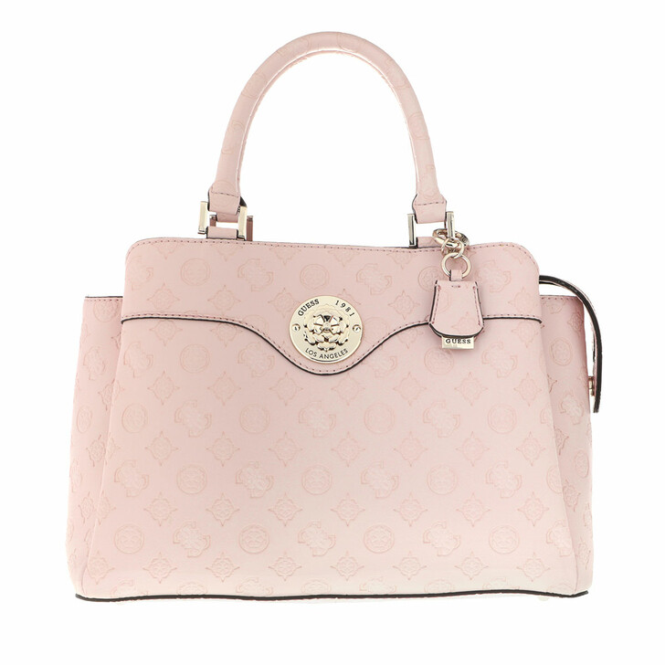 Handtasche, Guess, Dayane Triple Compartment Satchel Blush