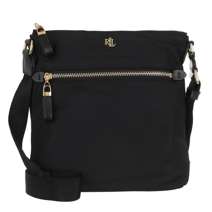 bags, Lauren Ralph Lauren, Jetty 23 Crossbody Medium Black