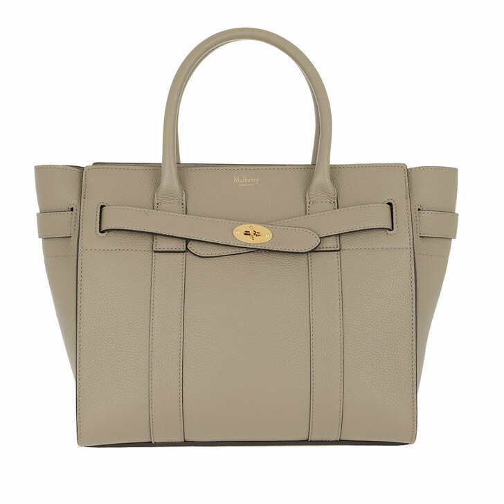 bags, Mulberry, Bay Small Zipped Classic Grain Solid Gold