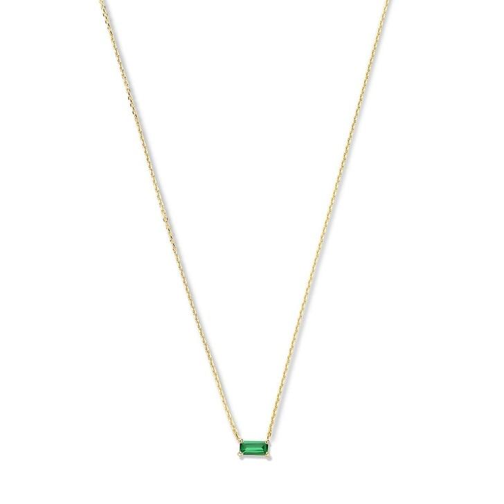 necklaces, Isabel Bernard, Baguette Nanon 14 Karat Necklace