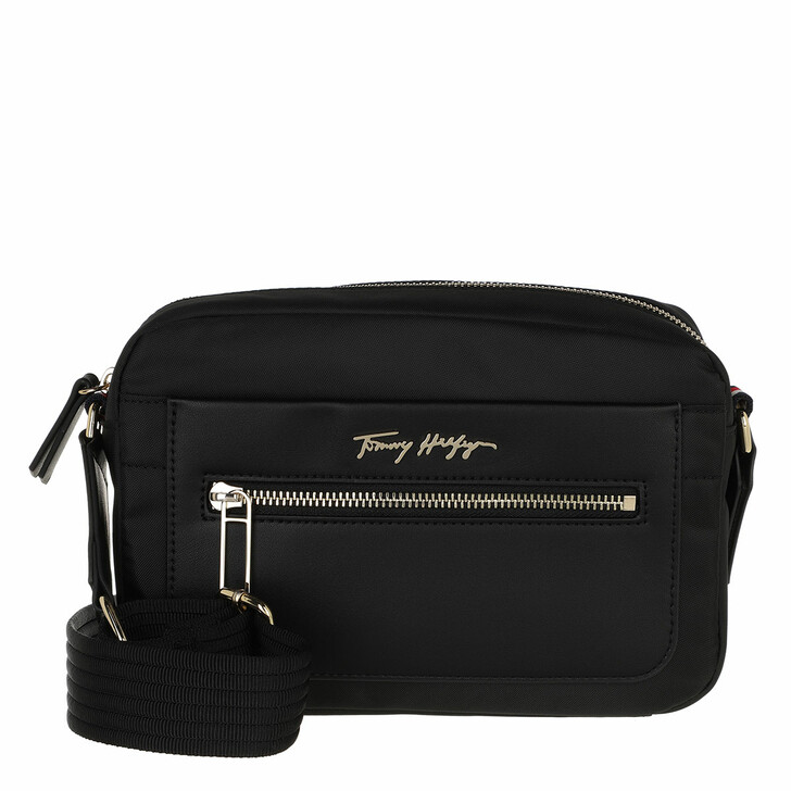 bags, Tommy Hilfiger, Tommy Fresh Camera Bag Black