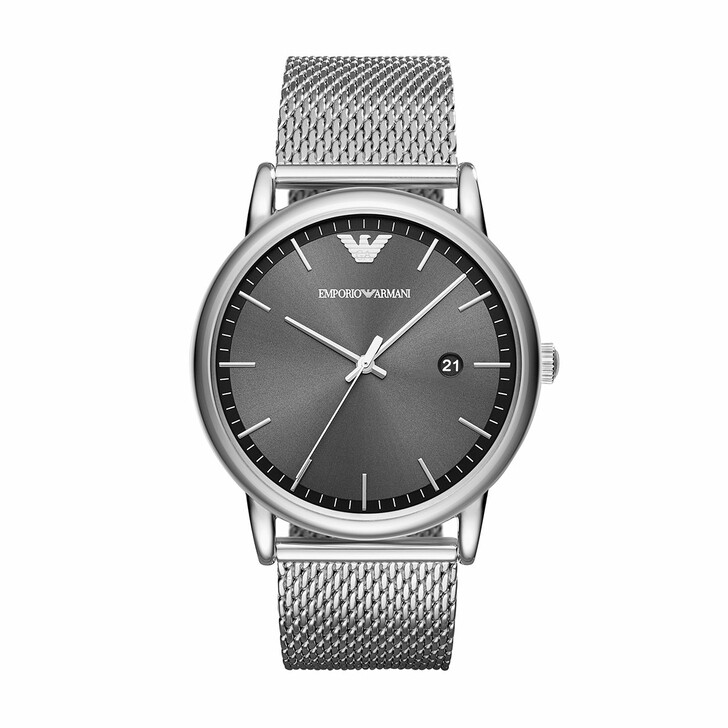Uhr, Emporio Armani, AR11069 Mens Metal Watch Silver