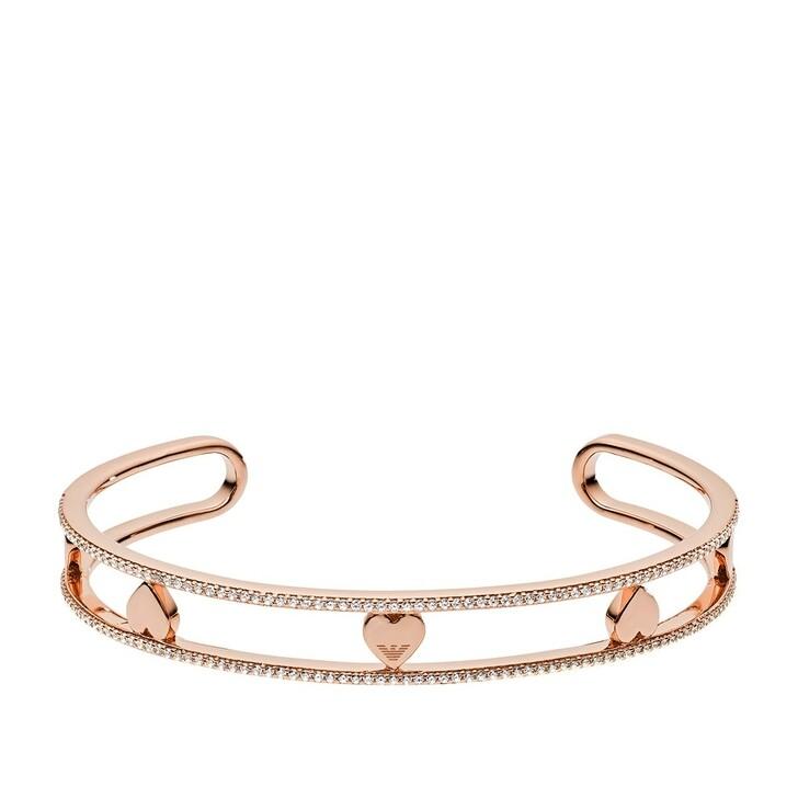 Armreif, Emporio Armani, EG3391221 Ladies Bracelet Rosegold