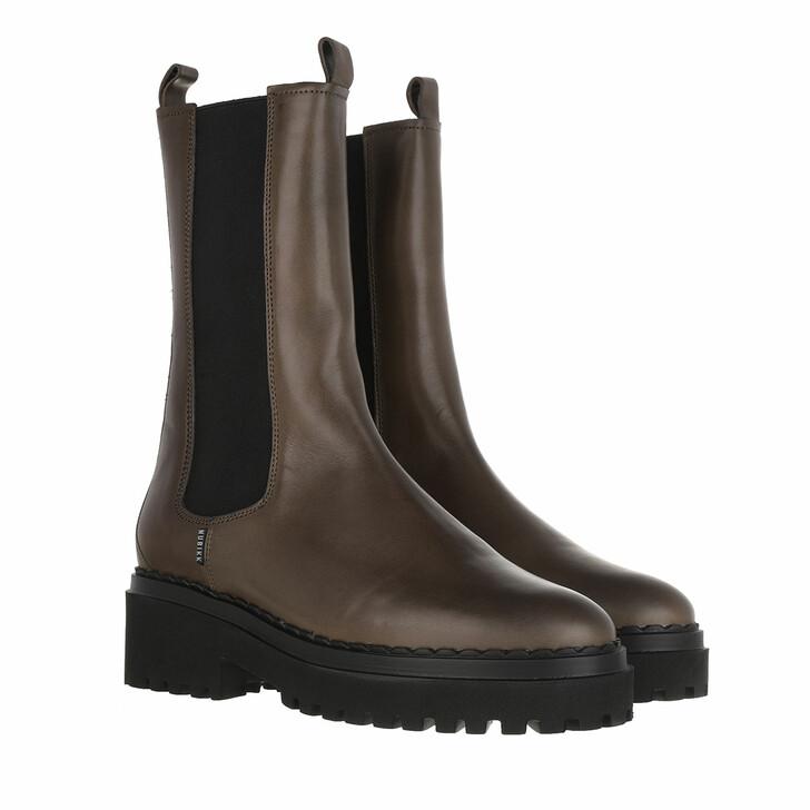 Schuh, Nubikk, Fae Adams Boots Leather Khaki
