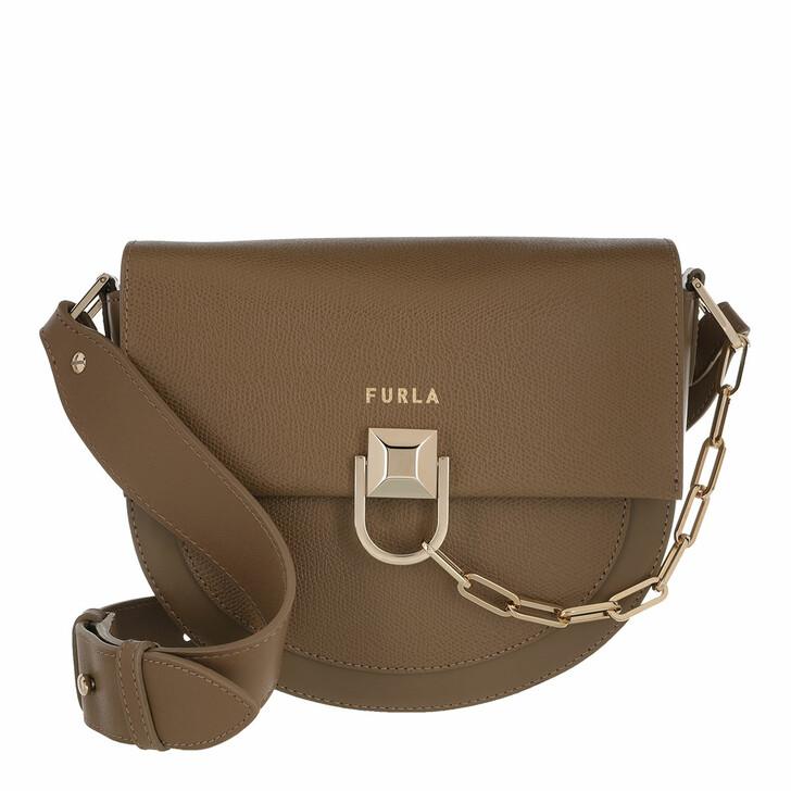 Handtasche, Furla, Furla Miss Mimi' Mini Crossbod Fango