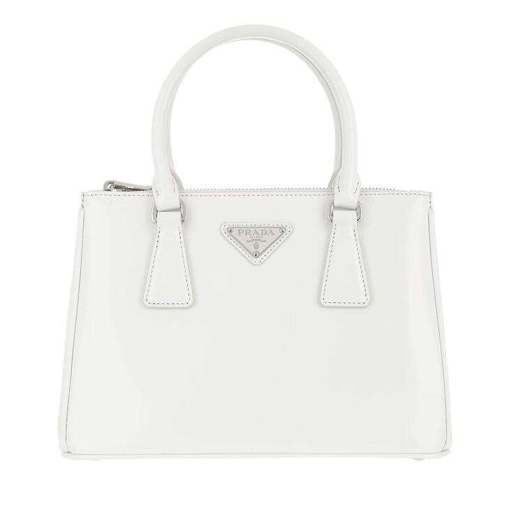 Handtasche, Prada, Galleria Shopping Bag Leather Bianco