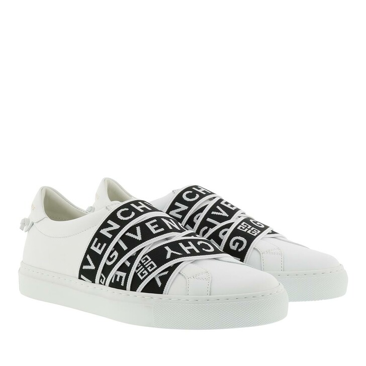 Schuh, Givenchy, Low Webbing Sneaker White/Black