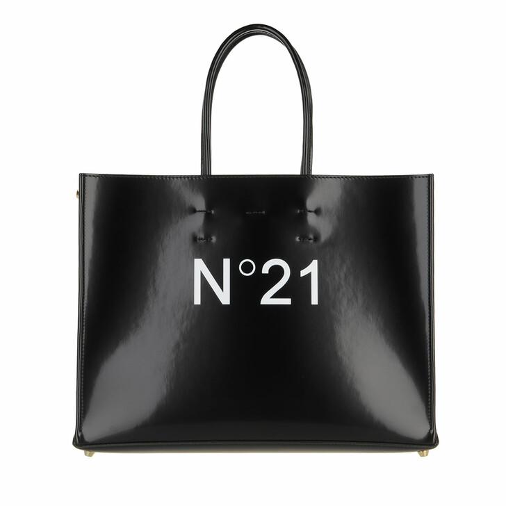 bags, N°21, Shopping Orizzontale Koram Black
