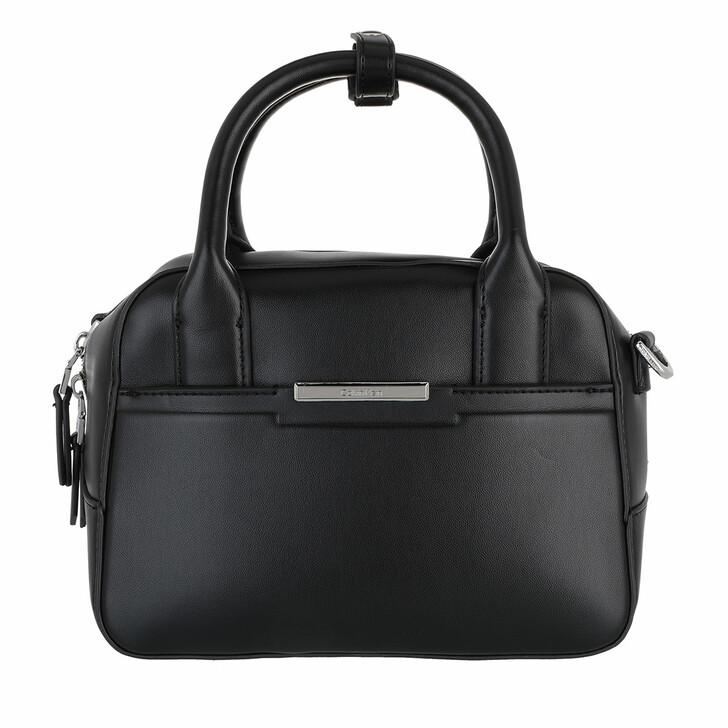 bags, Calvin Klein, Focused Bowling Bag Small CK Black