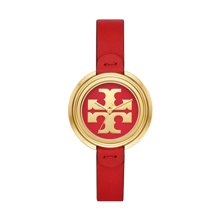 watches, Tory Burch, The Miller Watch Stainless Steel Red