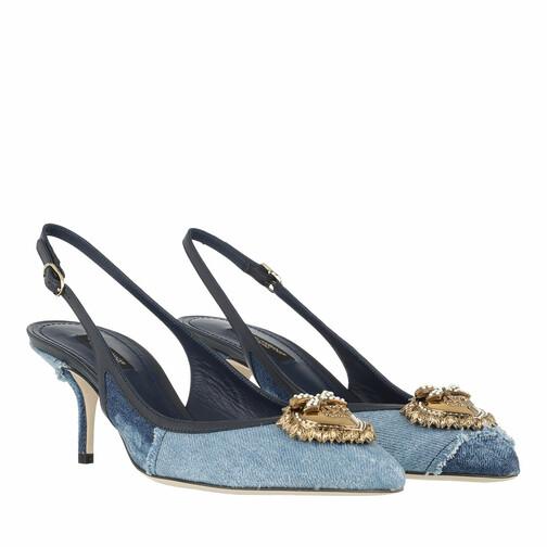 dolce&gabbana -  Pumps & High Heels - Slingback Pumps - in blau - für Damen