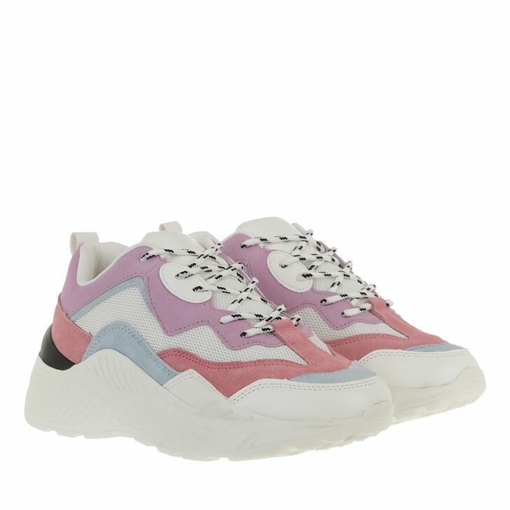 shoes, Steve Madden, Antonia Sneaker Suede Pastel Multi