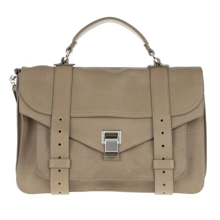 Handtasche, Proenza Schouler, PS1 Medium Crossbody Bag Lamb Leather Light Taupe