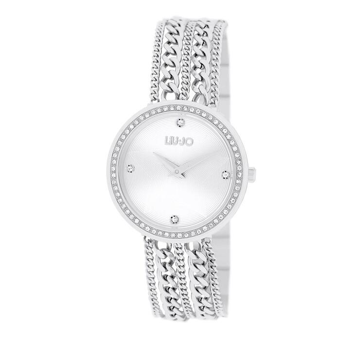 Uhr, LIU JO, TLJ1830 Chains Quartz Watch Silver
