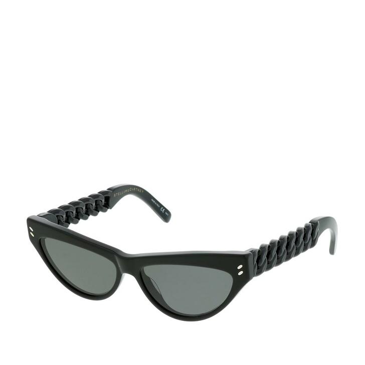 Sonnenbrille, Stella McCartney, SC0235S-001 56 Sunglasses Black-Black-Smoke