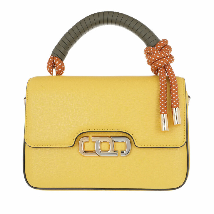 Handtasche, Marc Jacobs, The J Link Crossbody Bag Leather Pomelo Yellow